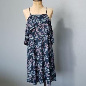 Lush cold shoulder spaghetti straps summer dress